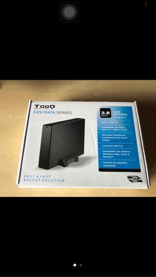 Disco duro 1tb + caja externa