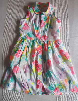 vestido niña Gap t.10
