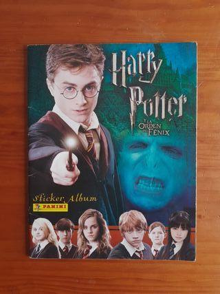 Álbum de cromos Harry Potter y la órden del Fénix