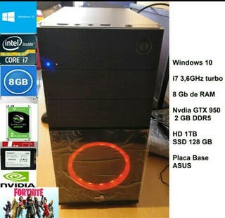 PC GAMING INTEL i7 , GTX 950 8GB DE RAM NUEVO