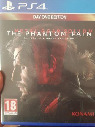 Metal Gear Solid V Ps4