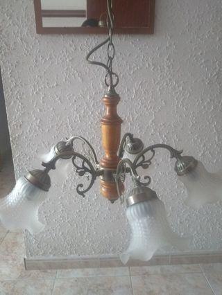 Lámpara de tulipas