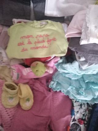 Lote niña de 0a24 meses más de 60 prendas