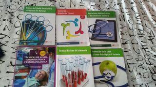 vendo libros de FP grado medio de enfermeria