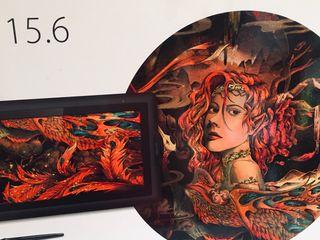 Tableta Gráfica Artist 15.6