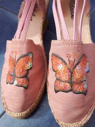 zapatos de esparto 38
