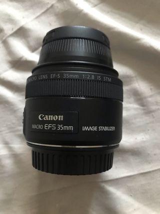 Objetivo canon 35 mm