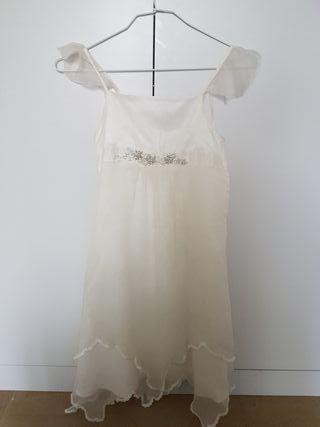 vestido ceremonia niña t.8