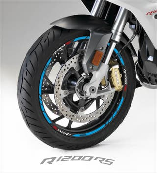 Vinilos llanta moto bmw R1200 RS
