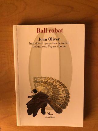 Libro Ball Robat. Joan Oliver
