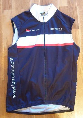 Chaleco maillot ciclismo GSPORT nuevo Talla L