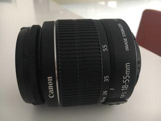Objetivo Canon 18-55 en perfecto estado