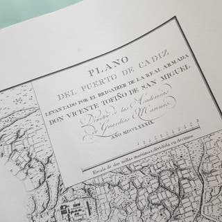 Carta Náutica Puerto de Cadiz