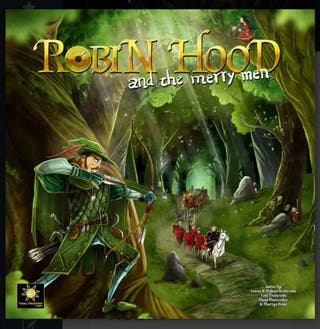 juego de mesa Robin hood and the merry men delux