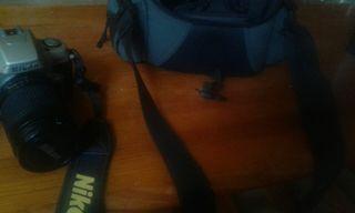cámara Nikon de fotos