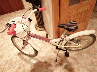 bicicleta juvenil d niña 20''como nueva poco usada