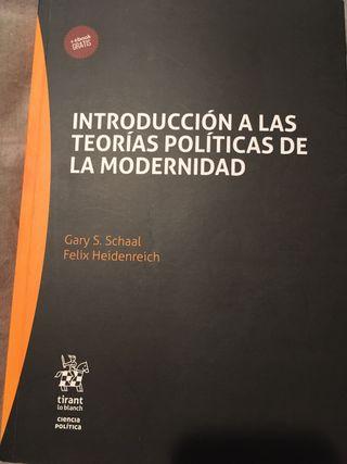 Introducción a las teorías políticas de la moderni