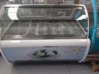 vitrina de helados