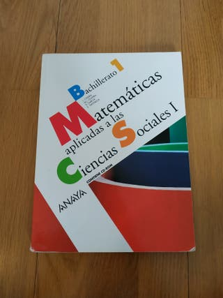 Libro Matemáticas 1ero Bachillerato