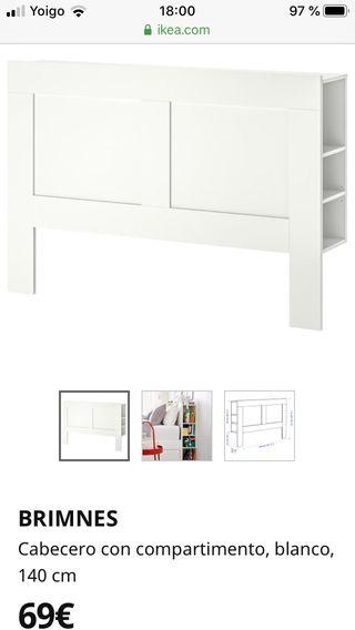 Cabecero IKEA