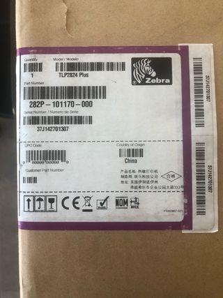 Vendo impresora Zebra TLP 2824 Plus