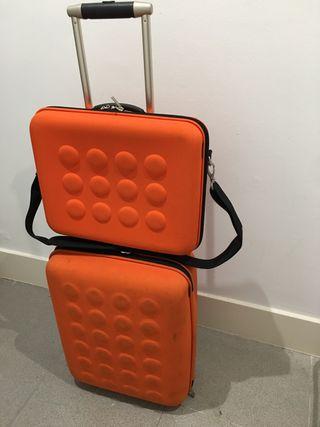 Trolley e maletin ordenador