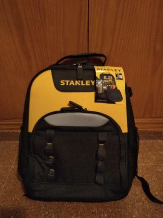 Mochila Stanley herramientas y portátil