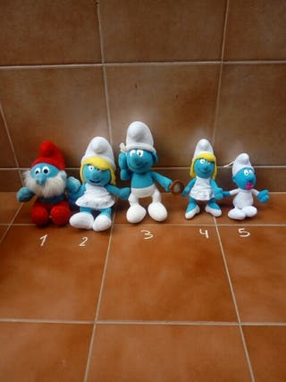 Peluches Pitufos
