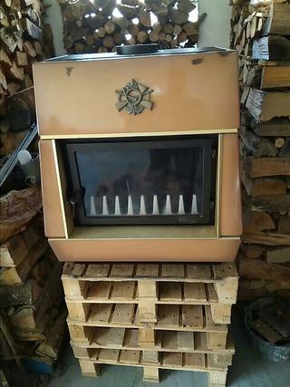 chimenea de salon estufa