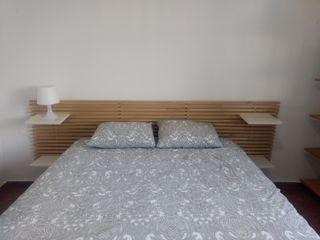 Cabecero Mandal IKEA blanco