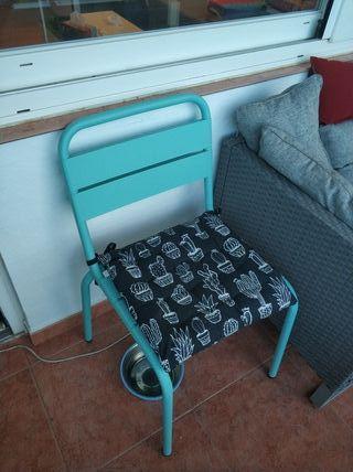 silla de hierro