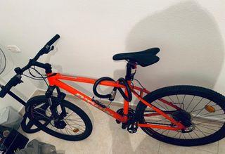 bicicleta bitwen rockrider 520