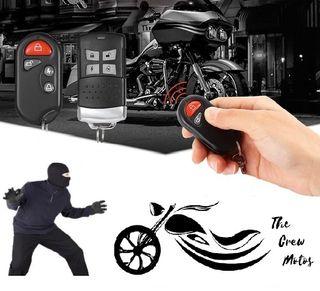Sistemas de seguridad, Alarma para motos