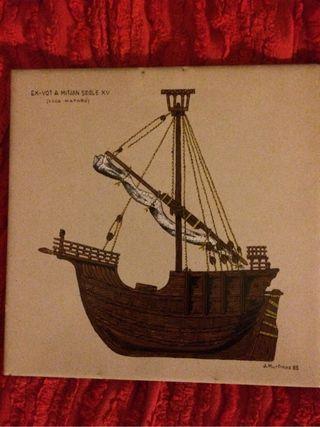 Azulejo barco de vela