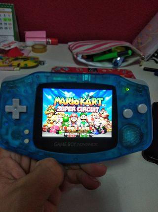 Gameboy advance LCD