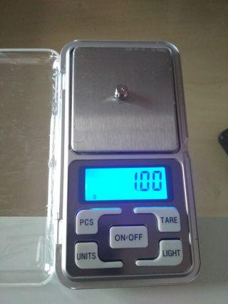 Báscula tanita 0,01 a 500 gramos