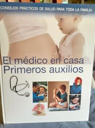 """Libro """"El médico en casa, primeros auxilios"""""""