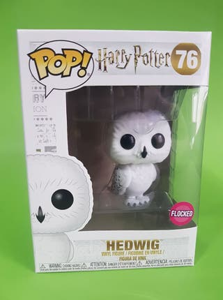 Hedwig Flocked Funko Pop Harry Potter 76