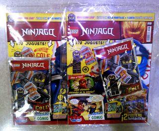 Lote dos revistas Lego Ninjago número 28