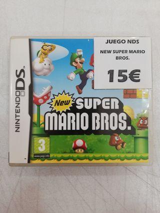 Videojuego Nintendo DS New Super Mario Bros.