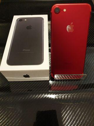 Iphone 7 128Gb Color rojo exclusivo