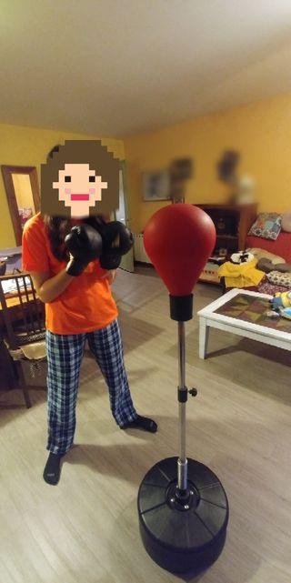 Boxeo, bola con soporte, saco