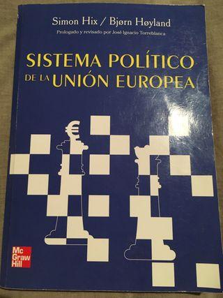 Sistema político de la Unión Europea