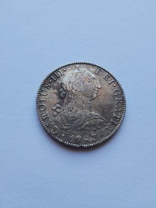 8 reales 1787 Carlos III México