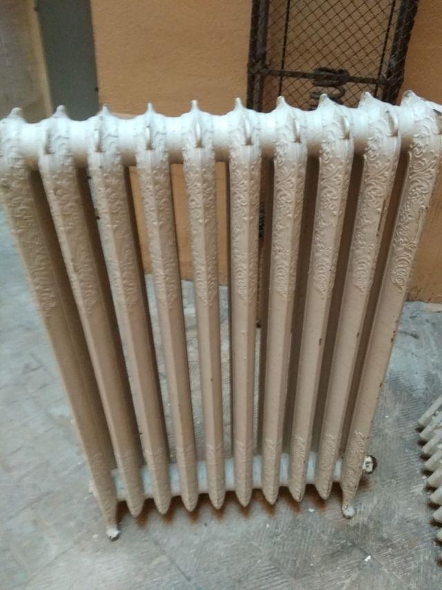 Radiador Antiguo de hierro fundido