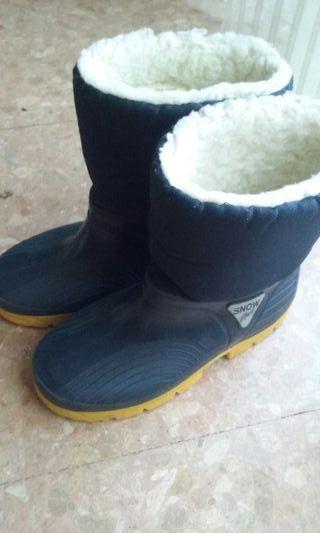 botas nieve niño n33