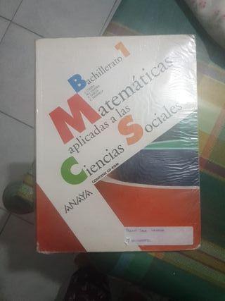 matematicas aplicadas a las CCSS 1 BACH