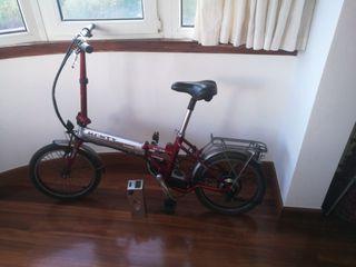 Bicicleta electrica plegable MONTY EF~38