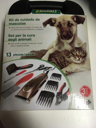 Kit cuidado mascotas 13 piezas