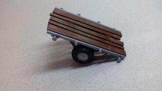 Playmobil remolque carrito.